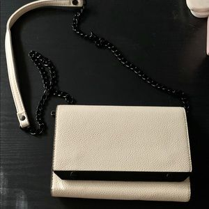 Forever 21 - white purse with blank trim